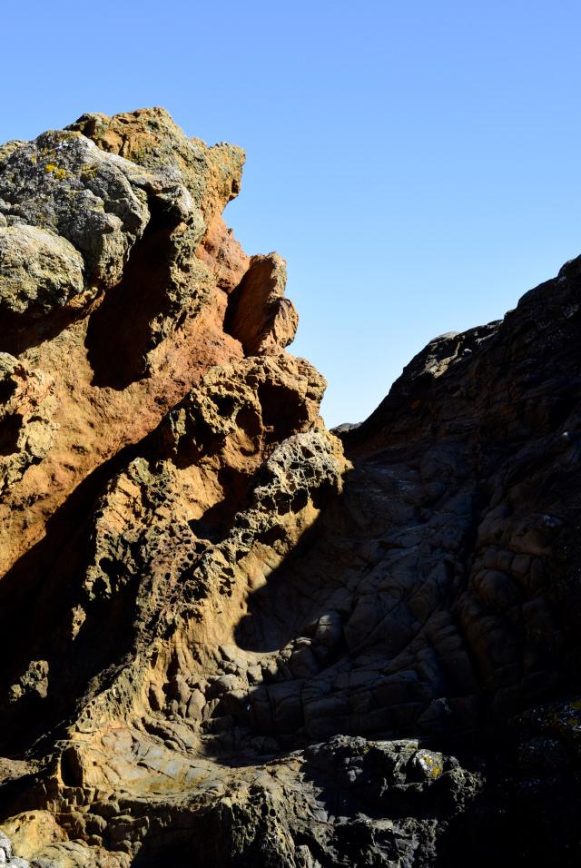 Rock Formations in St. Malo   www.rachelphipps.com @rachelphipps