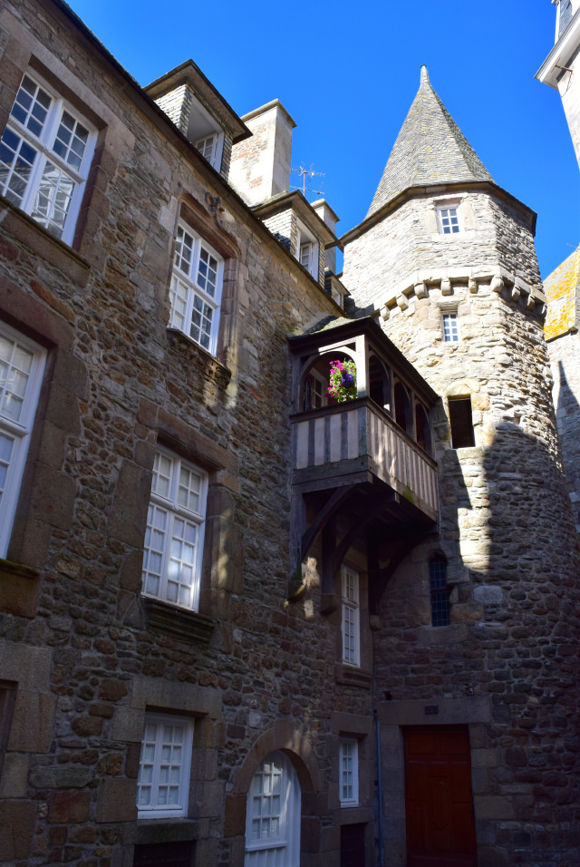 House of Duchess Anne, St. Malo   www.rachelphipps.com @rachelphipps