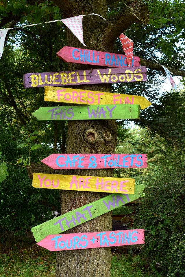 Sign Posts at Edible Ornamentals, Bedfordshire | www.rachelphipps.com @rachelphipps