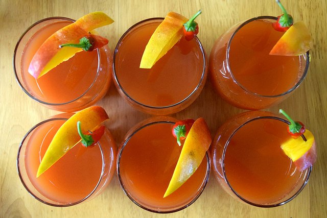 Bloody Kix Cocktails | www.rachelphipps.com @rachelphipps