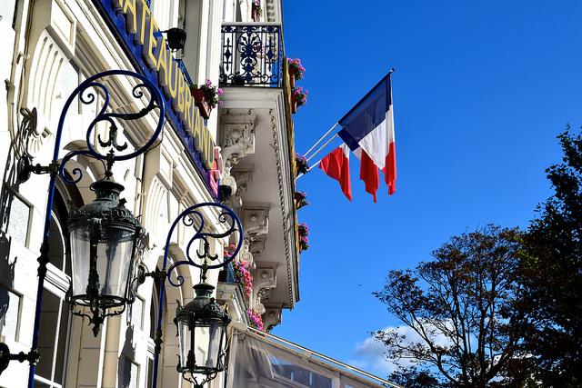 French Flags at St. Malo   www.rachelphipps.com @rachelphipps