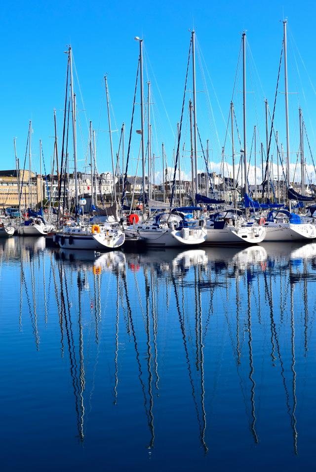 St. Malo Harbour   www.rachelphipps.com @rachelphipps