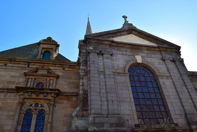 St. Malo Cathedral   www.rachelphipps.com @rachelphipps