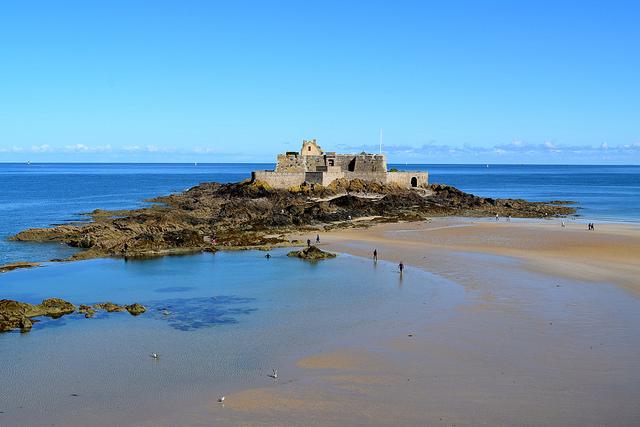 St. Malo Fort   www.rachelphipps.com @rachelphipps