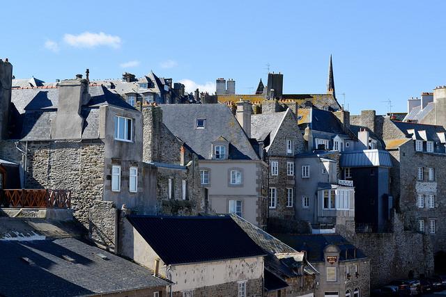 Old Town St. Malo, Brittany   www.rachelphipps.com @rachelphipps