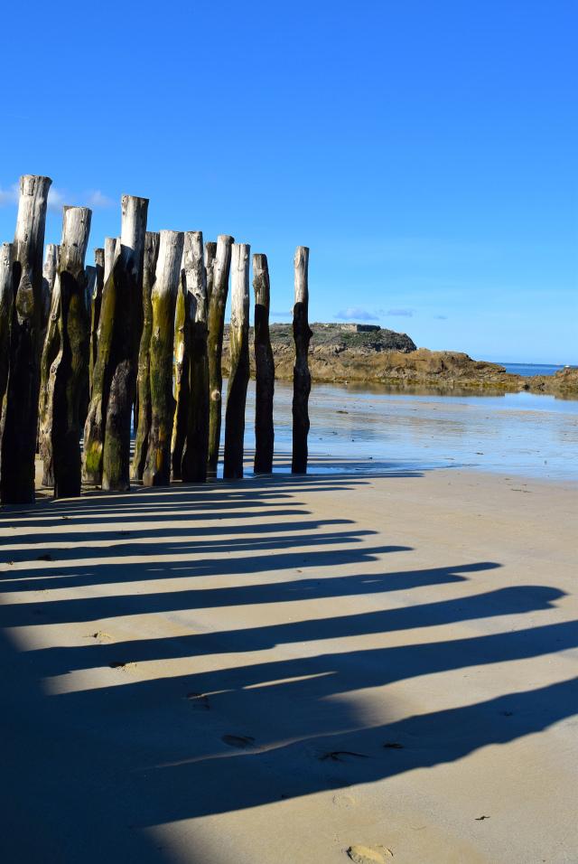 Coastal Defences in St. Malo, Brittany   www.rachelphipps.com @rachelphipps