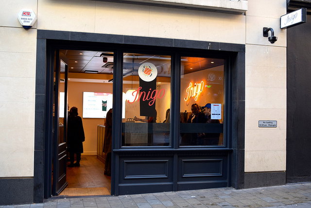Sushi Hand Roll Takeaway Inigo, Soho #sushi #lunch #london #soho #handrolls   www.rachelphipps.com @rachelphipps
