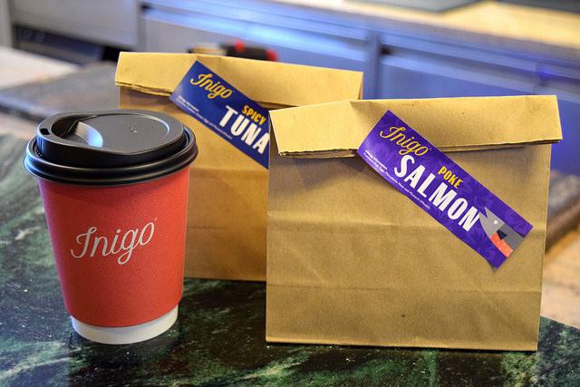 Miso Soup & Takeaway Hand Rolls from Inigo, Soho #sushi #lunch #london #soho #handrolls   www.rachelphipps.com @rachelphipps