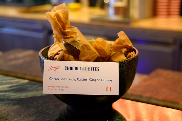 Chocolate Bites at Inigo, Soho #sushi #lunch #london #soho #handrolls   www.rachelphipps.com @rachelphipps
