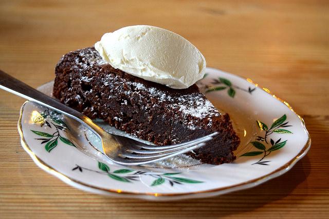 Chocolate Torte at Wild Goose, Canterbury #smallplates #wildgoose #thegoodsshed #canterbury   www.rachelphipps.com @rachelphipps