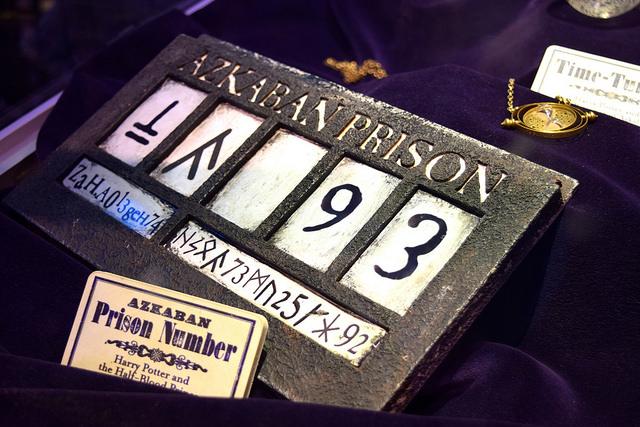 Azkaban Prisoner Numbers at the Harry Potter Studio Tour, London | #harrypotter www.rachelphipps.com @rachelphipps