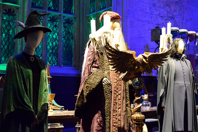 Teachers in the Great Hall at the Harry Potter Studio Tour, London | #harrypotter www.rachelphipps.com @rachelphipps