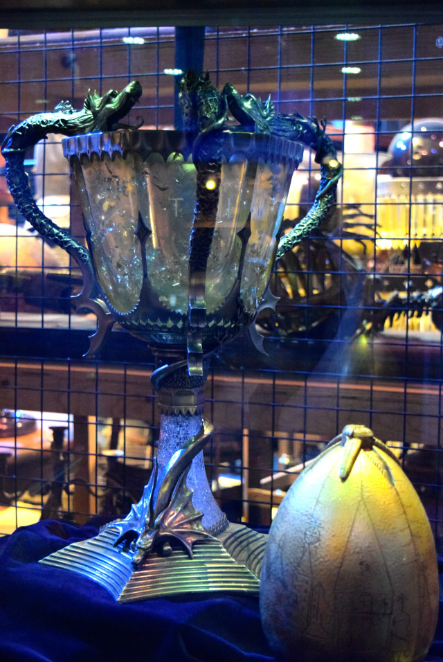 Tri-Wizard Cup & Egg at the Harry Potter Studio Tour, London | #harrypotter www.rachelphipps.com @rachelphipps