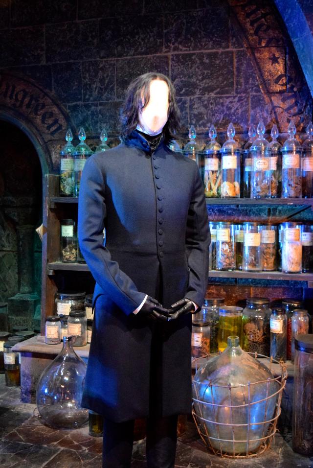 Severus Snape at the Harry Potter Studio Tour, London | #harrypotter www.rachelphipps.com @rachelphipps