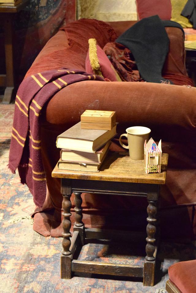Gryffindor Common Room at the Harry Potter Studio Tour, London | #harrypotter www.rachelphipps.com @rachelphipps