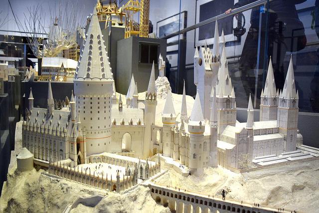 Model of Hogwarts at the Harry Potter Studio Tour, London | #harrypotter www.rachelphipps.com @rachelphipps