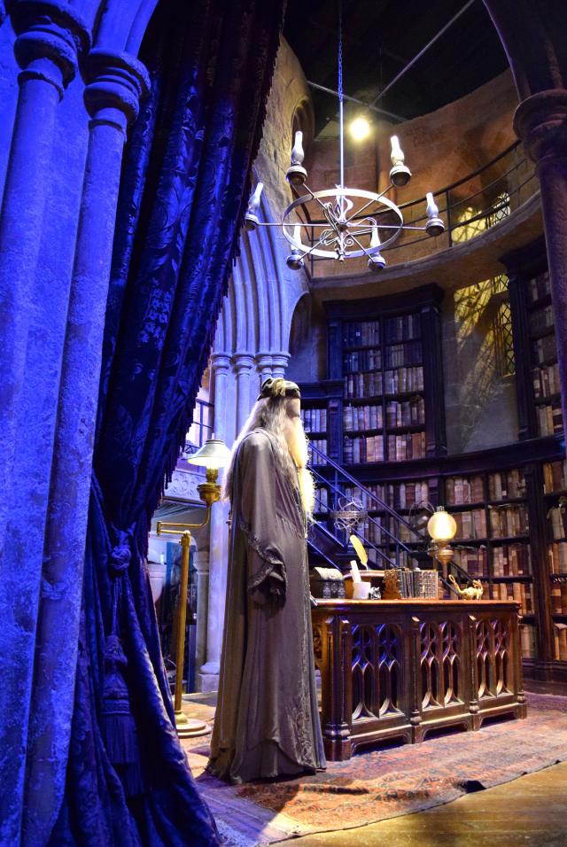 Dumbledor's Office at the Harry Potter Studio Tour, London | #harrypotter www.rachelphipps.com @rachelphipps