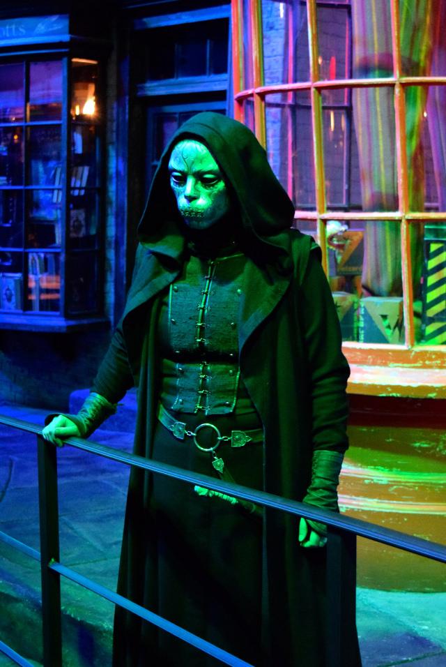 Death Eaters at the Harry Potter Studio Tour, London | #harrypotter www.rachelphipps.com @rachelphipps