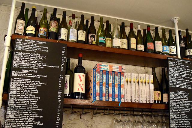 Natural Wine Collection at DUCKSOUP, Soho | www.rachelphipps.com @rachelphipps