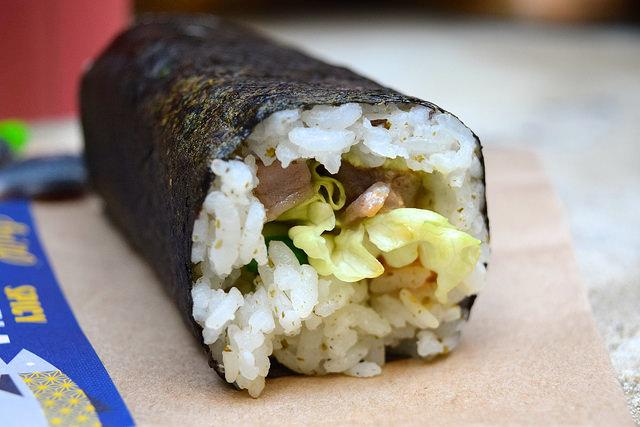 Spicy Tuna Hand Roll at Inigo, Soho #sushi #lunch #london #soho #handrolls   www.rachelphipps.com @rachelphipps