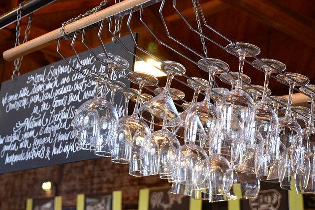 Glasses at Wild Goose, Canterbury #smallplates #wildgoose #thegoodsshed #canterbury   www.rachelphipps.com @rachelphipps