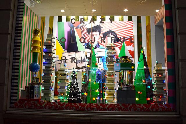 Fenwick Jo Malone Christmas Windows, Canterbury #christmas