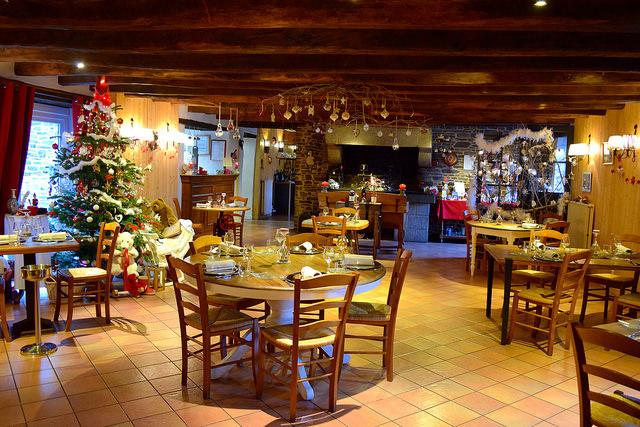 Christmas at Auberge de la Cour Verte, Dol de Bretagne #france #brittany #christmas