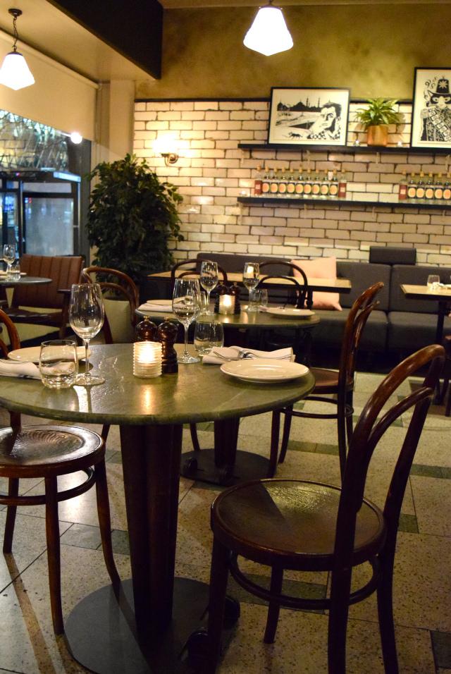 Dining Room at Yosma, Marylebone #mezze #marylebone #london