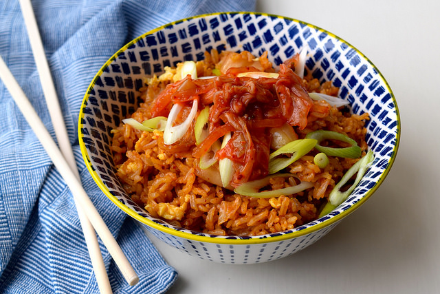 Kimchee Fried Rice #korean #rice #kimchee #friedrice #dinner #weeknight