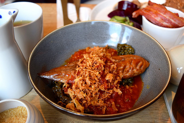 Mackerel, Tomato & Kale at Snaps & Rye, Notting Hill #danish #hygge #london