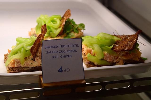 Trout Open Sandwiches at Snaps & Rye, Notting Hill #danish #hygge #london