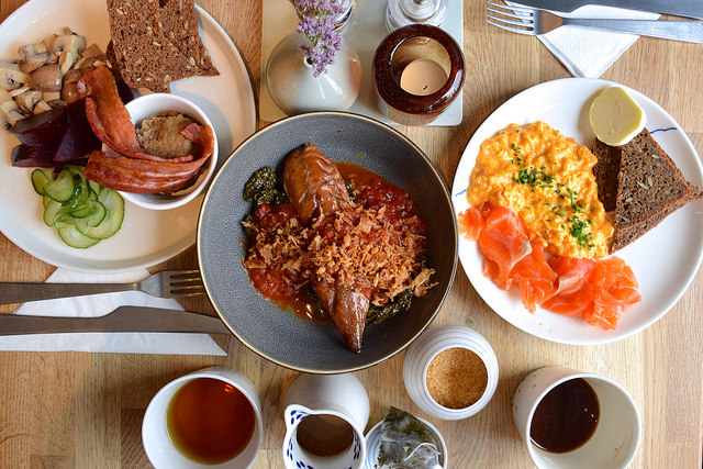 Lunch at Snaps & Rye, Notting Hill #danish #hygge #london