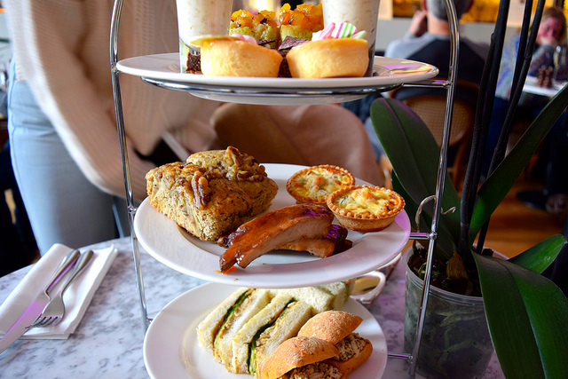 Sweets at the Thai Afternoon Tea at Kew Gardens Orchid Festival #afternoontea #thai #kewgardens #london