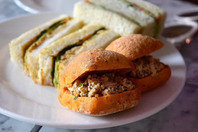 Thai Afternoon Tea Sandwiches at Kew Gardens #sandwiches #afternoontea #thai #kewgardens #london