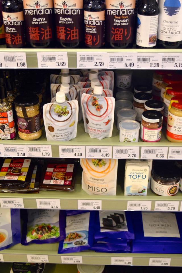 Asian Ingredients at Canterbury Wholefoods