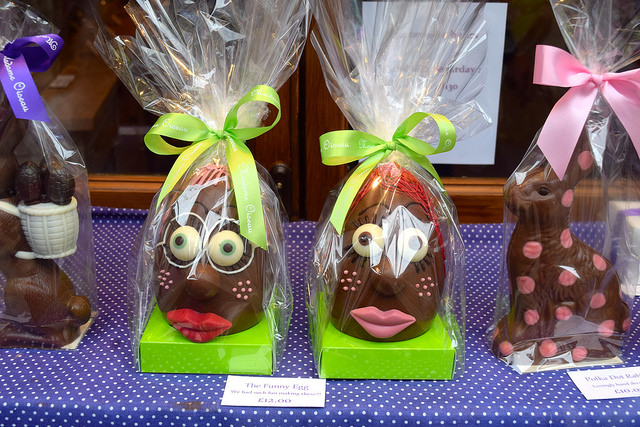 Funny Easter Eggs at Madame Oiseau, Canterbury #chocolate #canterbury