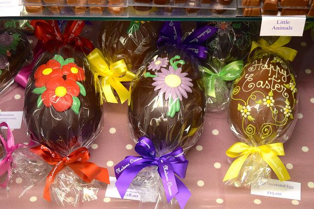 Easter Eggs at Madame Oiseau, Canterbury #chocolate #canterbury