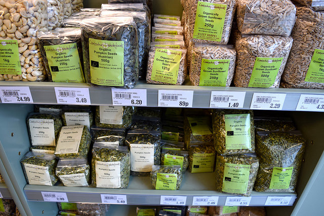 Dry Goods at Canterbury Wholefoods