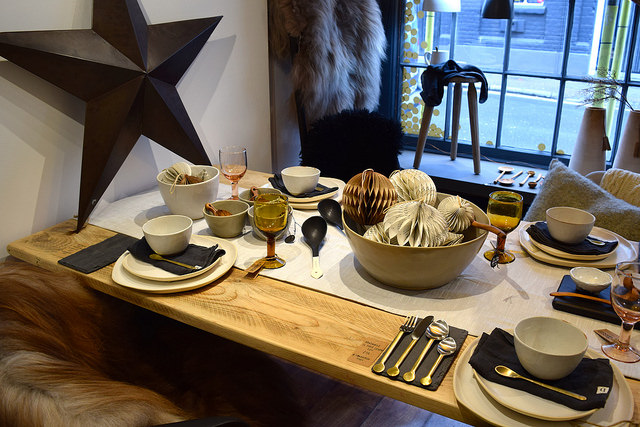 Table Setting at The Living Lounge, Canterbury