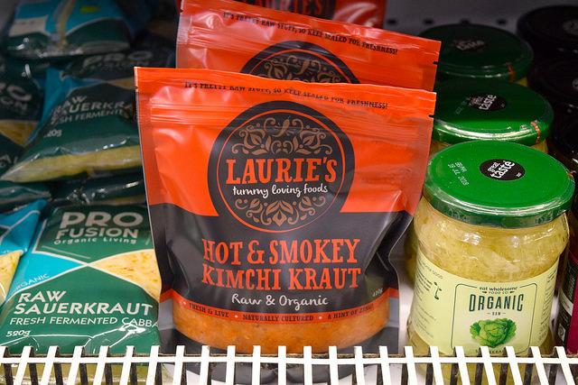 Kimchee Kraut at Canterbury Wholefoods