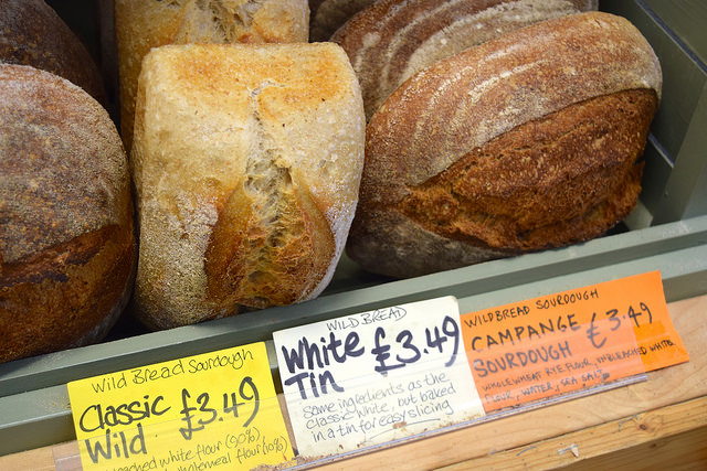 Fresh Bread at Canterbury Wholefoods