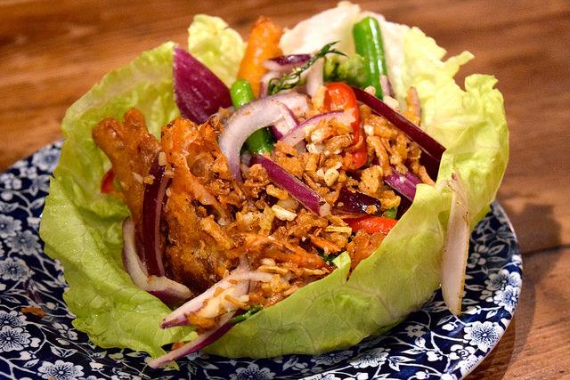 Soft Shell Crab at Vietfood, Chinatown #vietnamese #chinatown #london