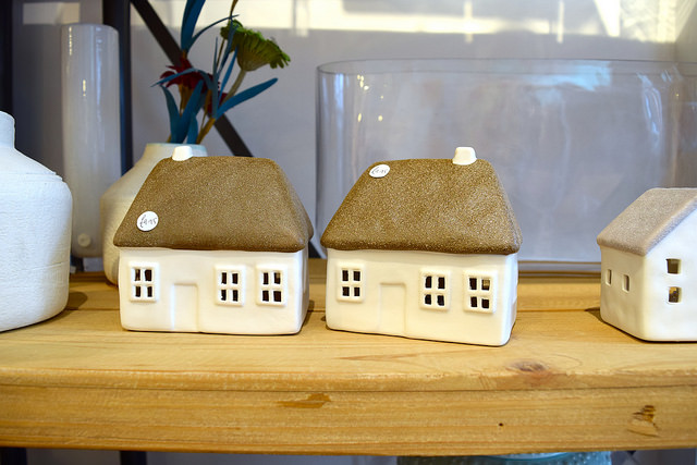 Ceramic Houses at Sowley, Canterbury