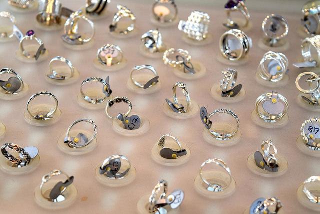 Rings at 925 Silver, Canterbury #canterbury #silver #jewellery