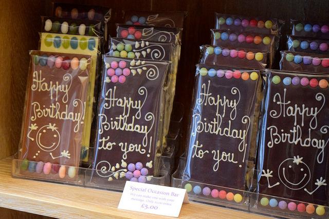 Celebration Chocolate Bars at Madame Oiseau, Canterbury #chocolate #canterbury