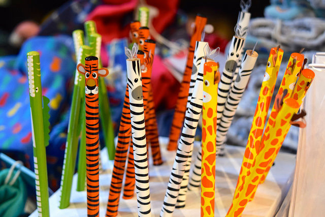 Animal Pencils at Wrapped!, Canterbury