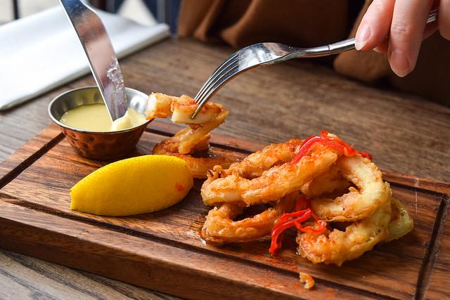 Calamari at Deakins, Canterbury #calamari #lunch #canterbury