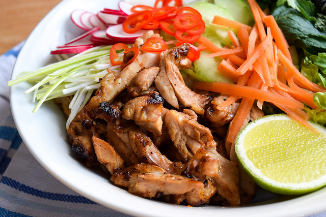 Griddled Vietnamese Chicken