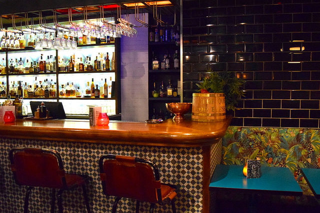 Bar at Rum Kitchen, Notting Hill