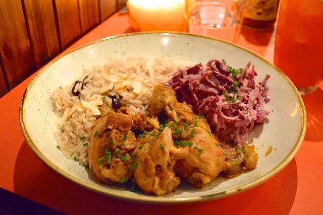 British Virgin Islands Jerk Chicken at Rum Kitchen, Notting Hill